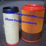 Howo Air Filter K2448 WG9725190102 WG9725190103